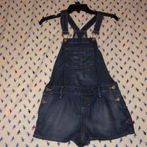 Soft Overall Shorts